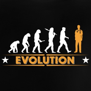 Pfleger Evolution - orange/weiss Baby T-Shirts - Baby T-Shirt