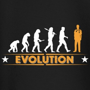 Pfleger Evolution - orange/weiss Baby Langarmshirts - Baby Langarmshirt