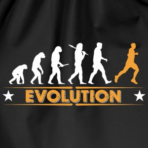 Running Evolution - orange/weiss Vesker & ryggsekker - Gymbag
