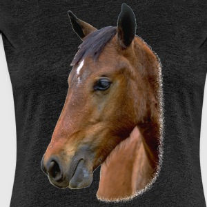 Horse Head 2 - Women's Premium T-Shirt