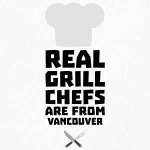 Real Grill Chefs are from Vancouver S33ai T-Shirts - Men's V-Neck T-Shirt