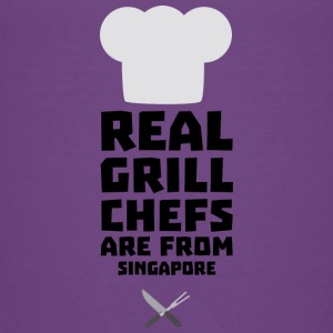 Real Grill Chefs are from Singapore Sme6v Shirts - Kids' Premium T-Shirt