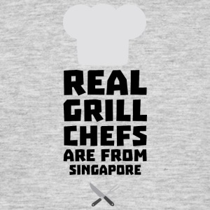 Real Grill Chefs are from Singapore Sb2oj T-Shirts - Men's T-Shirt