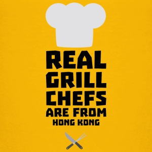 Real Grill Chefs are from Hong Kong S6vr3 Shirts - Kids' Premium T-Shirt