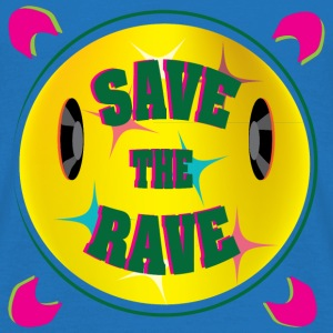 Save the rave - Mannen T-shirt