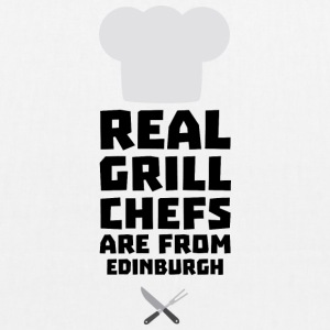 Real Grill Chefs are from Edinburgh Su0t7 Bags & Backpacks - EarthPositive Tote Bag