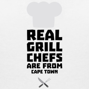 Real Grill Chefs are from Cape Town Sp68p T-Shirts - Women's V-Neck T-Shirt