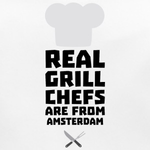 Real Grill Chefs are from Amsterdam Sl267 Baby Bibs - Baby Organic Bib