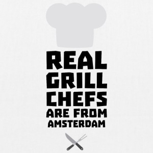 Real Grill Chefs are from Amsterdam Sl267 Bags & Backpacks - EarthPositive Tote Bag
