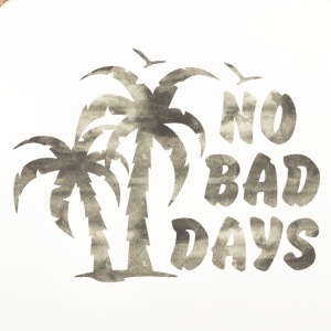 NO BAD DAYS Mugs & Drinkware - Coasters (set of 4)