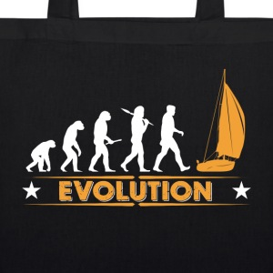 Sail evolution - orange/white Bags & Backpacks - EarthPositive Tote Bag