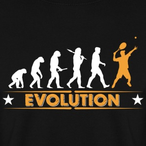 Tennis Evolution - orange/weiss Hoodies & Sweatshirts - Men's Sweatshirt