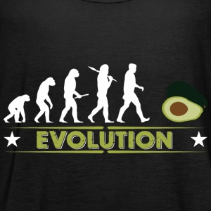 Avocado Evolution - gruen/weiss Tops - Vrouwen tank top van Bella