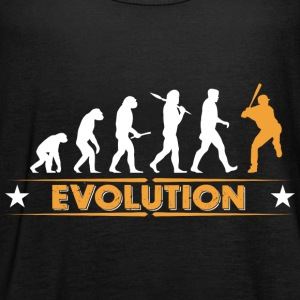 Baseball Evolution - orange/weiss Top - Top da donna della marca Bella