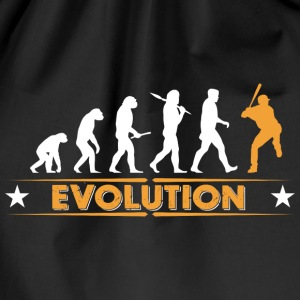 Baseball Evolution - orange/weiss Tasker & rygsække - Sportstaske