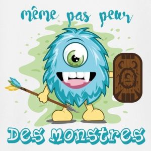 monstre guerrier Tee shirts manches longues Bébés - T-shirt manches longues Bébé