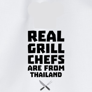 Real Grill Chefs are from Thailand Sf9gv Bags & Backpacks - Drawstring Bag