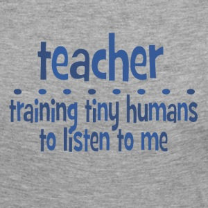 Training Tiny Humans Long Sleeve Shirts - Women's Premium Longsleeve Shirt
