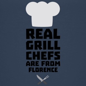 Real Grill Chefs are from Florence Sa9z0 Shirts - Teenage Premium T-Shirt