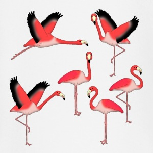 Flamingo selection Baby Long Sleeve Shirts - Baby Long Sleeve T-Shirt