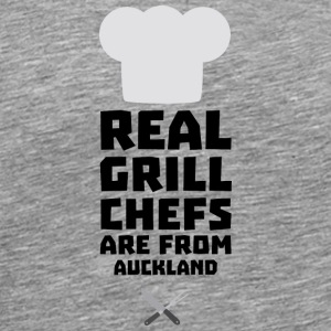 Real Grill Chefs are from Auckland S37l9 T-Shirts - Men's Premium T-Shirt