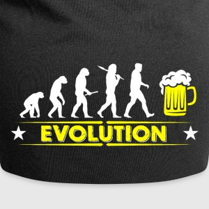 Beer evolution - yellow/white Caps & Hats - Jersey Beanie