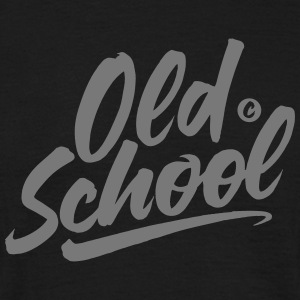 THE OLD SCHOOL - Men's T-Shirt