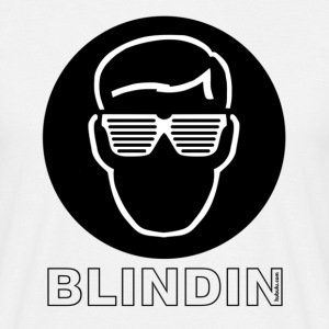 White blindin3000 Men's T-Shirts - Men's T-Shirt