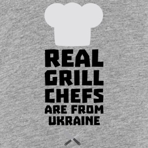 Real Grill Chefs are from Ukraine Smne6 Shirts - Teenage Premium T-Shirt