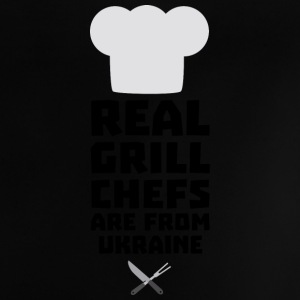 Real Grill Chefs are from Ukraine Smne6 Baby Shirts  - Baby T-Shirt