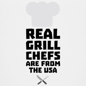 Real Grill Chefs are from The USA S1698 Shirts - Teenage Premium T-Shirt