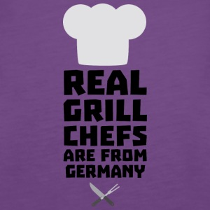 Real Grill Chefs are from Germany S70ij Tops - Women's Premium Tank Top