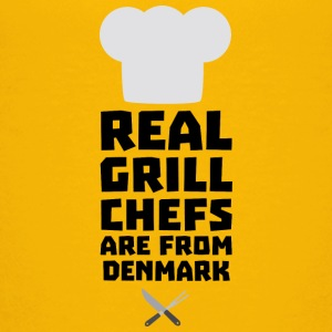 Real Grill Chefs are from Denmark Sxyp3 Shirts - Teenage Premium T-Shirt
