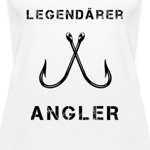 Legendärer Angler black.png Tops - Frauen Premium Tank Top