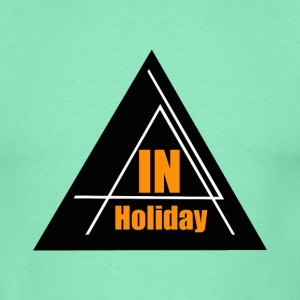 In Holiday - Männer T-Shirt