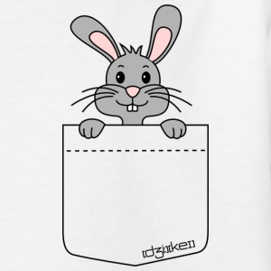 pocket friend - rabbit - Kinder T-Shirt