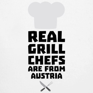 Real Grill Chefs are from Austria Sa5e3 Baby Bodysuits - Longlseeve Baby Bodysuit