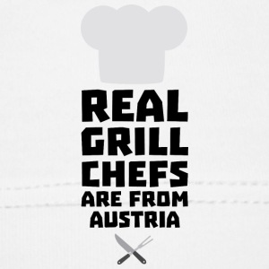 Real Grill Chefs are from Austria Sa5e3 Baby Cap - Baby Cap