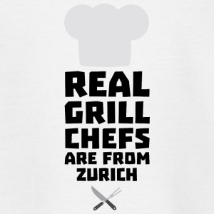 Real Grill Chefs are from Zurich Sc57z Shirts - Kids' T-Shirt