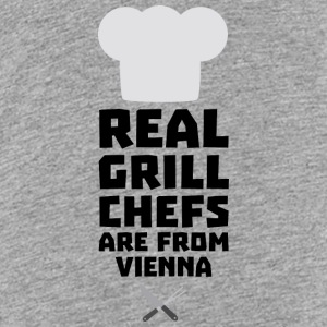 Real Grill Chefs are from Vienna S9rm1 Shirts - Teenage Premium T-Shirt