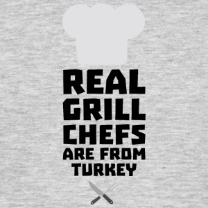 Real Grill Chefs are from Turkey S306q T-Shirts - Men's T-Shirt