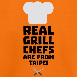 Real Grill Chefs are from Taipei Sr7k1 Shirts - Kids' Premium T-Shirt