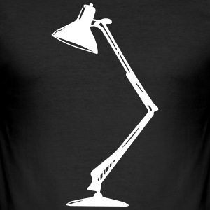 Tischlampe T-skjorter - Slim Fit T-skjorte for menn
