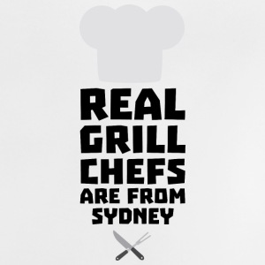 Real Grill Chefs are from Sydney So470 Baby Shirts  - Baby T-Shirt