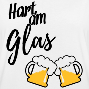 Hart am Glas T-Shirts - Frauen Oversize T-Shirt