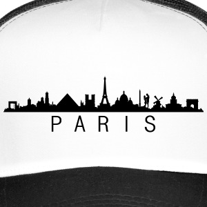 Skyline Paris Name Caps & Mützen - Trucker Cap