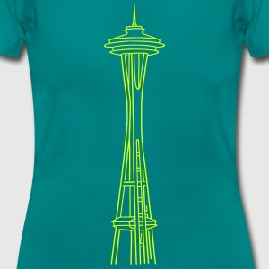 Space Needle in Seattle - Frauen T-Shirt