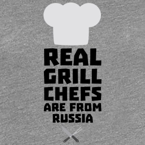 Real Grill Chefs are from Russia S9st3 T-Shirts - Women's Premium T-Shirt