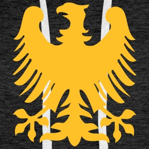 Eagle Bird Coat Of Arms Animal Gensere - Premium hettegenser for menn
