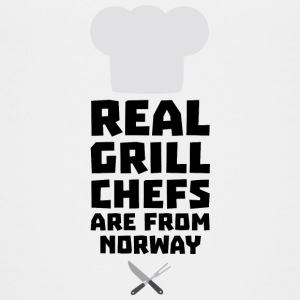 Real Grill Chefs are from Norway S8cv1 Shirts - Teenage Premium T-Shirt
